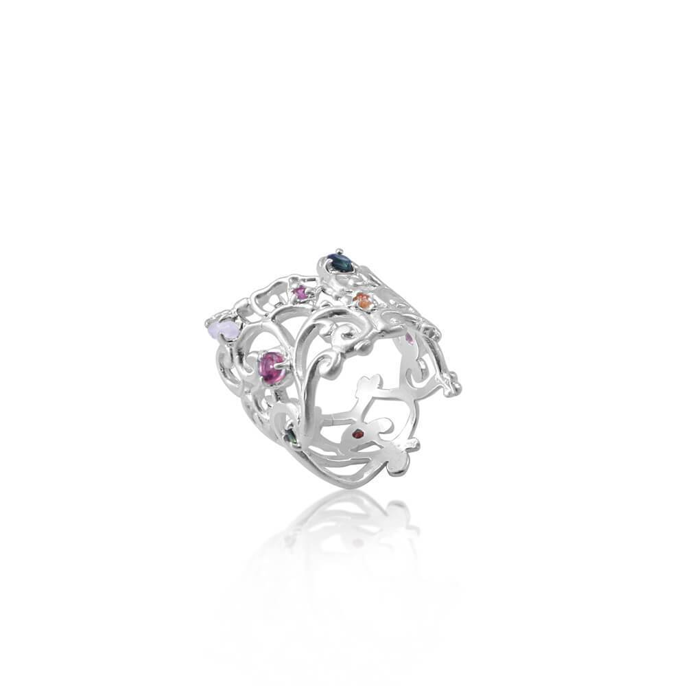 Follow Your Bliss Ring silver