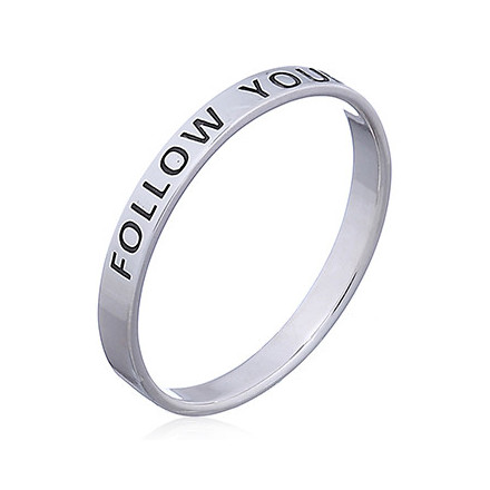 Silverring Follow your Dreams