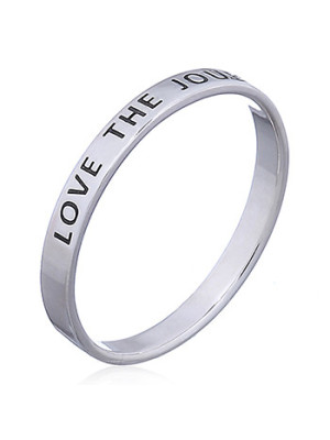 Silverring Love The Journey