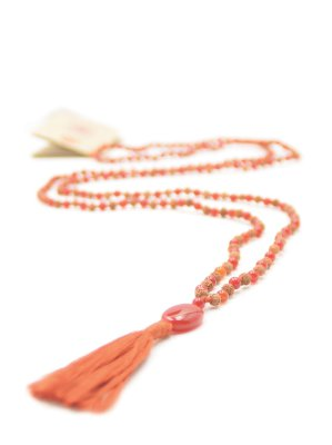 Karneol, Devotion mala rudraksha