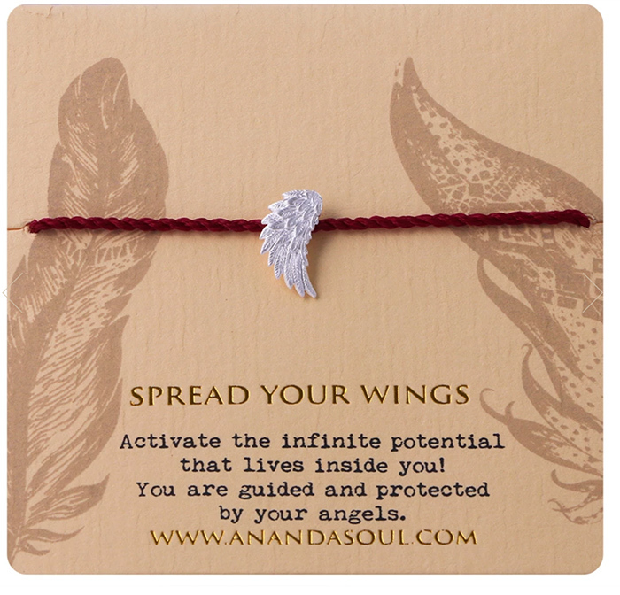 Spread your wings armband silver