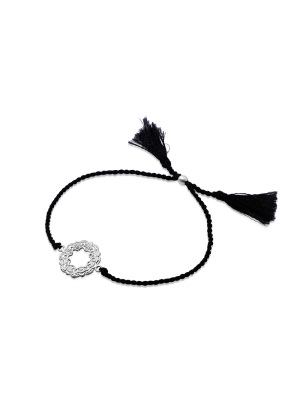 Ananda soul, your life is now armband i silver