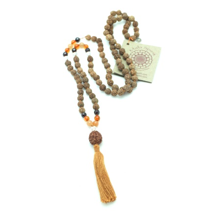 Rudraksha Female Power Mala