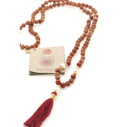 Rudraksha Devoted to Earth mala