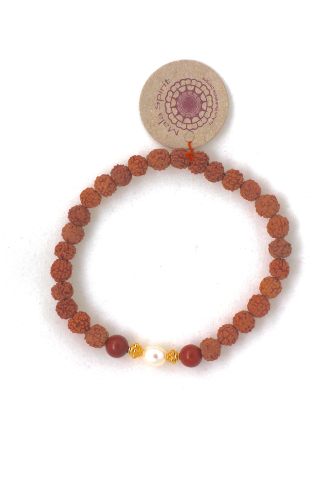 Devoted to Earth Rudraksha armband